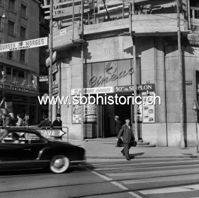 XP Title: Kino Cinéac in Lausanne (05.1956)