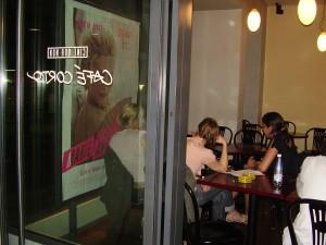 Le Café Corto, aujourd'hui déplacé au Cinétoile.