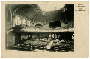 L'intérieur du Kursaal à son ouverture (1901).