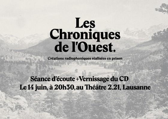 Les Chroniques de l'ouest : Un cinéma pour l'oreille.