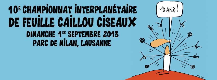 Championnat InterPlanétaire de Feuille – Caillou – Ciseaux : Clap de fin !
