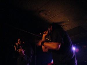 Le duo Perceptionists en visite à Lausanne en 2008