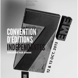 7ème Convention d'Editions indépendantes !