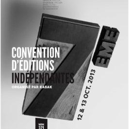 7ème Convention d'Editions indépendantes !