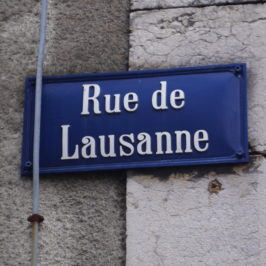 Une rue lausannoise à l'UNESCO