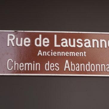"Une rue qui en ""Vaud"" la peine"