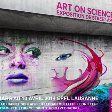 Le Street Art fait son chemin à l'EPFL