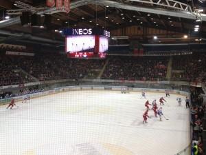 Match LHC - Zürich Mais où est le puck?