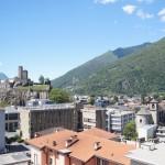 Bellinzona et le Castel Grande