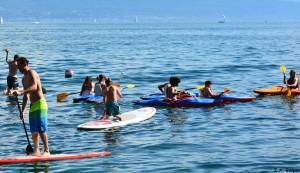 Paddle lausanne sur mer