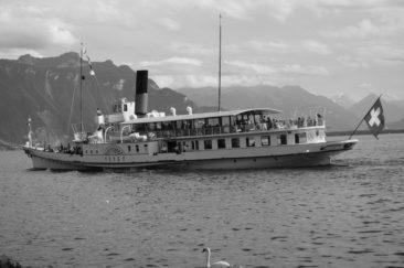 ...ou en bateau ? et avec le Vevey, c'est encore mieux.