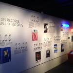 Le Mur des records © Musée olympique