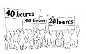 1976 - Premier dessin publié dans 24heures