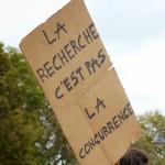 La recherche n'est pas à la concurrence. CC_BY_SA 3.0 Jean-Claude Saget