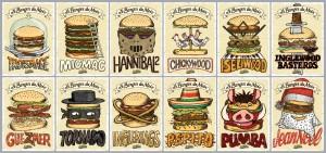 Les burgers du mois de l'année 2014