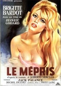 L'affiche originale du Mépris