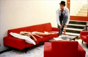 La scène de l'appartement.
