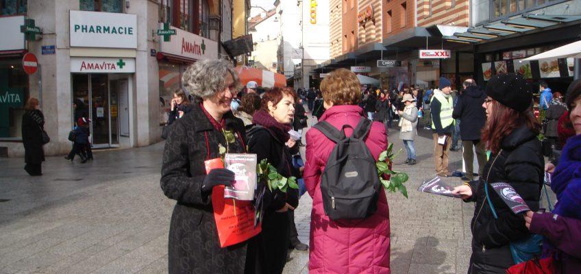 Pas de roses pour les femmes à la Saint-Valentin
