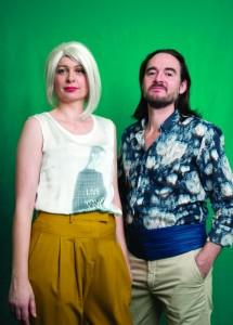 Valérie Liengme et Yves Jenny, qui interprètent Véra et Michael, un couple infernal. A voir à Dorigny actuellement. Photo : © Jeremie-Mercier, 2015