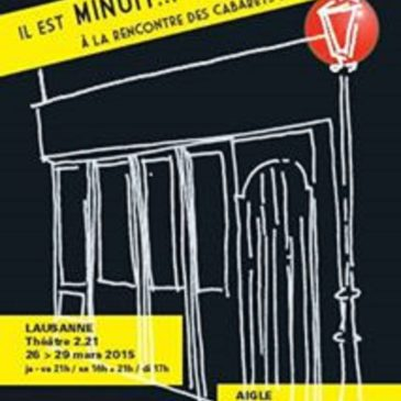 Il est minuit… si on chantait? Cabaret musical original