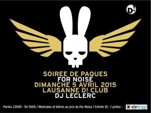 La belle affiche ! © Pâques For Noise, D!