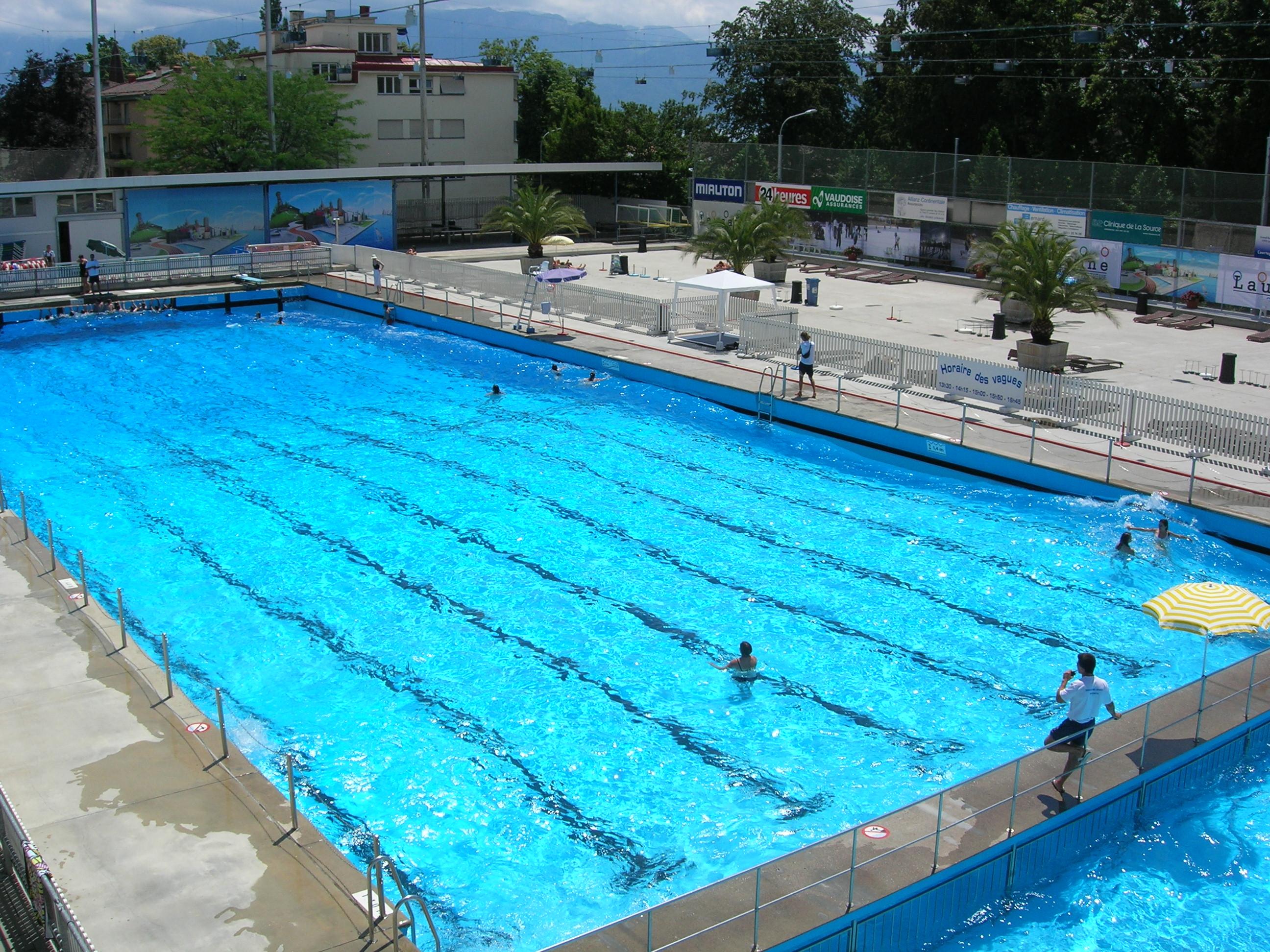 Pr parez vos bikinis et vos tongs les piscines ouvrent le for Bellerive lausanne piscine