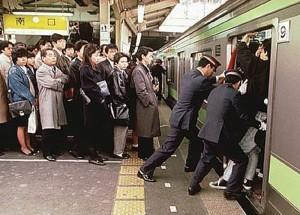 La célèbre image qui démontre bien l'organisation à l'extrême de la capitale nippone.