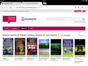 Une sélection d'ouvrages, sur la plateforme en ligne