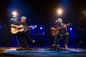 Caetano Veloso et Gilberto Gil  (Photographe : (C) Lionel Flusin)