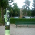 La tour Haldimand, panneau informatif. – © Julie Collet