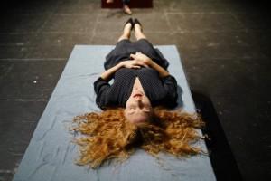 Eva, l'assistante du Dr Strom. Photographie de Mario Del Curto