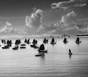Harbour of Kowloon, Hong Kong, China, 1952 – © Werner Bischof