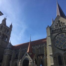Parcours dans les entrailles et dans les hauteurs de la Cathédrale