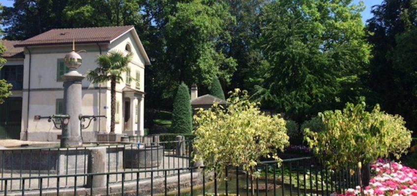 Le Parc Mon-Repos l'été ou l'histoire d'une Madeleine de Proust