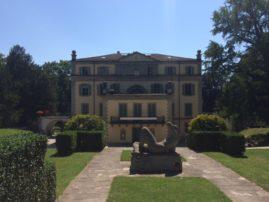 La Villa Voltaire depuis l'arrière.