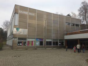 Le Centre d'animation de Grand-Vennes, juste au dessus du collège, qui propose l'atelier bougie.