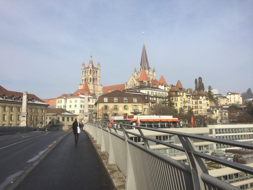 En route vers la cathédrale !