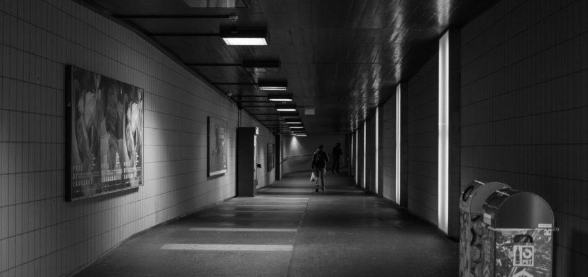 Un regard sur Lausanne : Le couloir de Georges