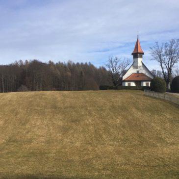 L'église des Croisettes.