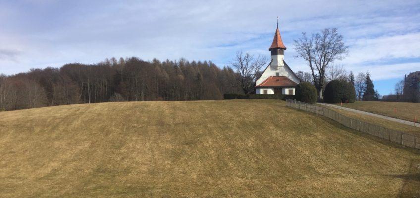 Les beaux postes d'observation à Lausanne : 3/ L'église des Croisettes
