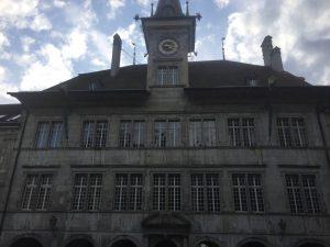 C'est au rez-de-chaussée du vénérable hôtel de ville, place de la Palud, que se trouve l'exposition temporaire ReNaissance.