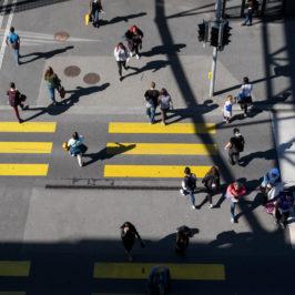 Un regard sur Lausanne : Du haut de l'amas de données
