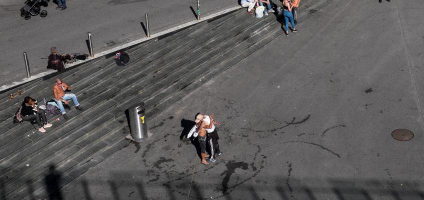 Un regard sur Lausanne : Free Hugs