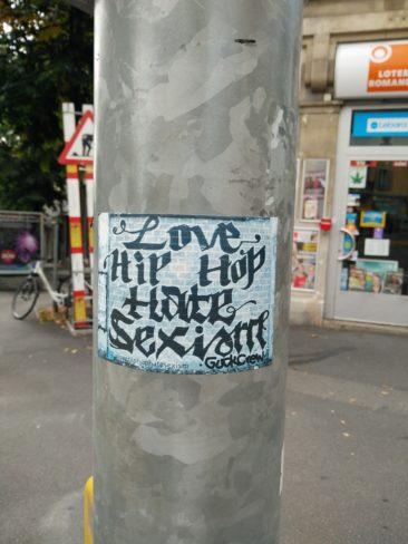 Un message antisexiste