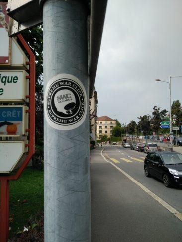 Les stickers, une occasion pour moi de découvrir le collectif SWC