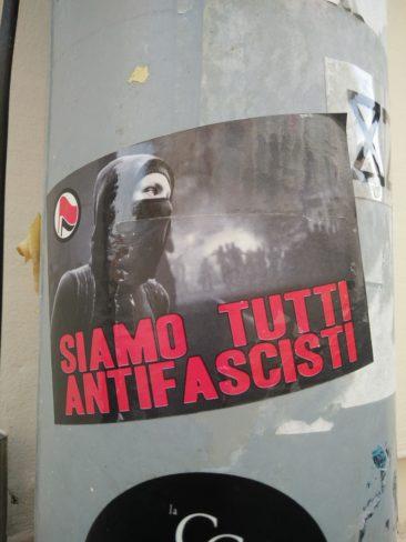 Antifascisme en italien