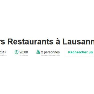 BadTripAdvisor : choisir son resto quand on débarque à Lausanne