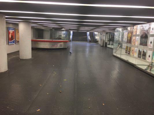 Le passage souterrain de Saint-François.