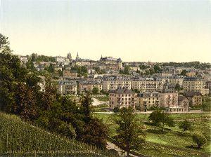 Lausanne autour de 1900.