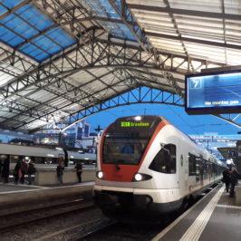 Bouillonnement d'émotions en gare de Lausanne